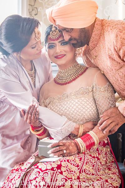 Maharani's special moment.