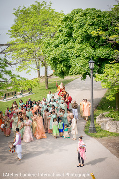 Great capture of baraat procession.