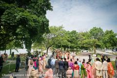 Baraat pre-wedding celebration capture.