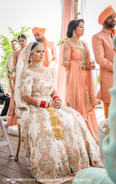 Maharani  during the ceremony.