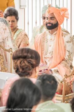 So In love Indian groom capture.