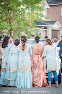 Indian bridesmaids capture.