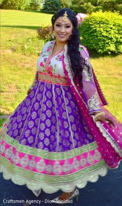Joyful Maharani outdoors