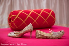 Shoes to be used by the Maharani and Raja