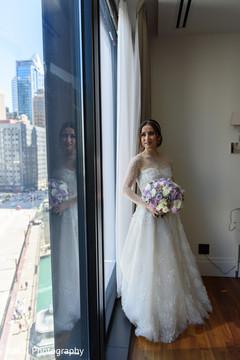 Indian bride's wedding lengha