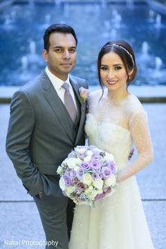 Stunning Indian couple prior to the reception