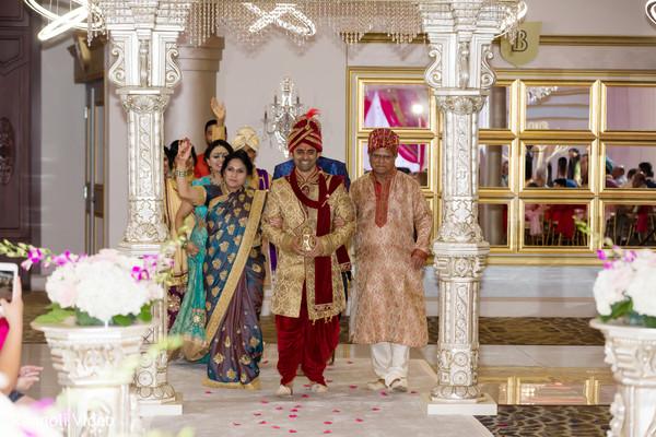 indian groom,venue,ceremony,decor