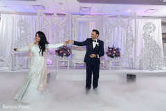 First dance capture of Indian newlyweds