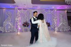 Beautiful decor at the Indian wedding reception