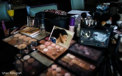 Makeup details to be used on the Maharani