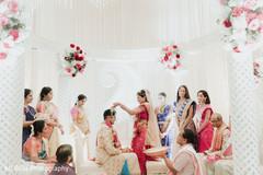 Maharani during the Indian wedding rituals