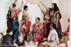 See this joyful Indian couple during the ceremonies