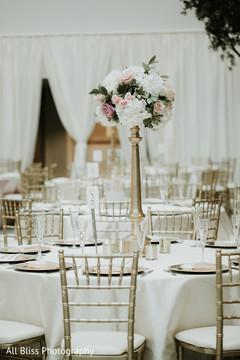 Dreamy Indian wedding ceremony venue decor