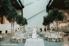 See this beautiful table setup for the reception