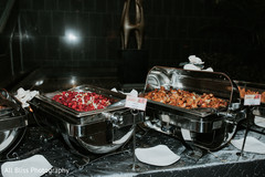 Capture of the delicious food for the Indian wedding