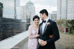 Maharani holding her husband during the photo shoot