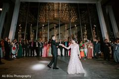 See this beautiful Maharani and Raja having their first dance