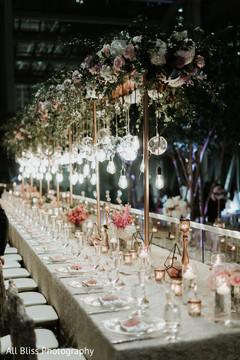 Brilliant Indian wedding decor idea.