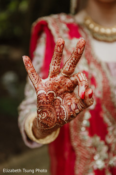 Beautiful mehndi design used by the Maharani