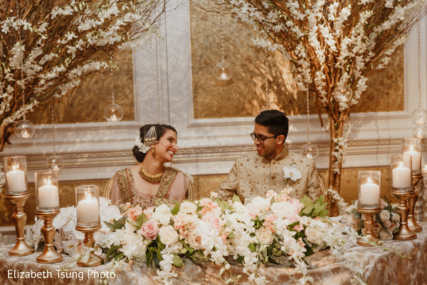 indian wedding,table,venue,maharani