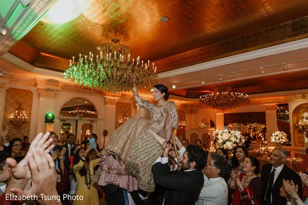 indian bride,guests,venue,lightning