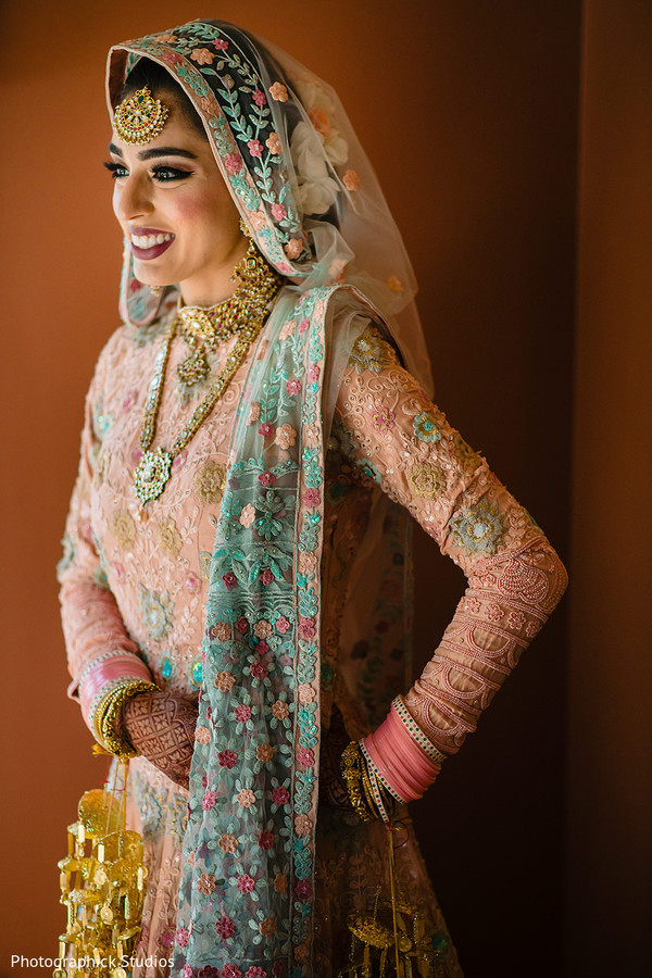 indian bride,maharani,indian wedding,lengha