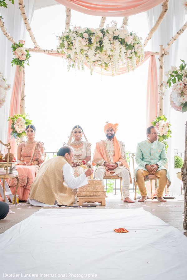 indian groom,indian bride,indian sikh wedding