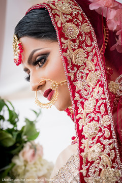 Flawless maharanis ceremony makeup.