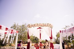 Indian wedding ceremony ritual capture.