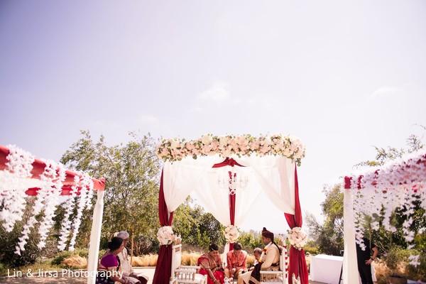 Indian wedding ceremony ritual capture.