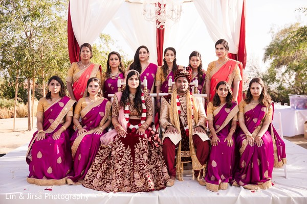 indian bride,indian groom,indian wedding ceremony fashion,indian bridesmaids