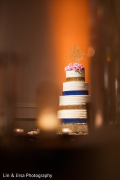 Indian wedding cake photography.