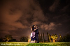 Dreamy indian newlyweds photo shoot.