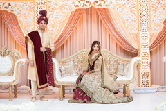 See this Indian bride and groom looking flawless