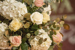 Indian wedding floral design