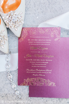 Marvelous Indian wedding invitations and bridal accessories.