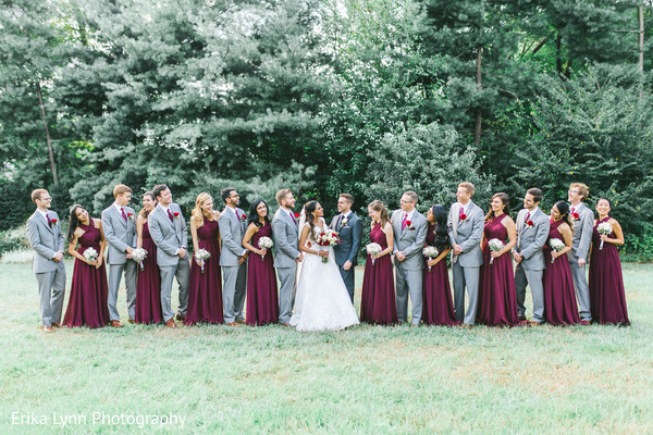 indian christian wedding,indian bride,indian groom,indian bridesmaids and groomsmen