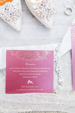 Lovely Indian wedding Invitation photo.