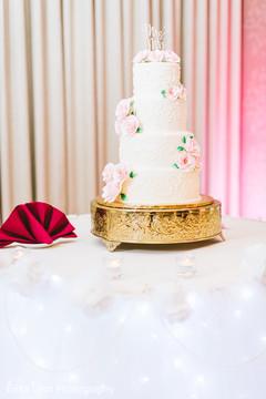 Wonderful Indian wedding cake  decor.