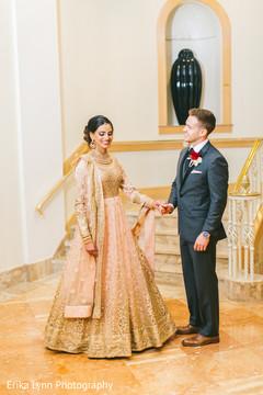 Inspiring Indian wedding reception photography.