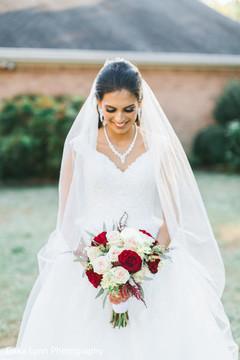Joyful Indian bride capture.