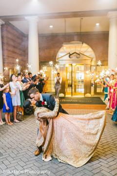 Breath taking indian wedding reception photo session.