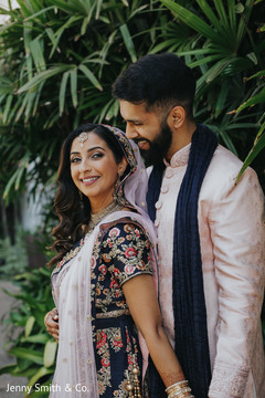 Lovely capture of Indian bride and Raja