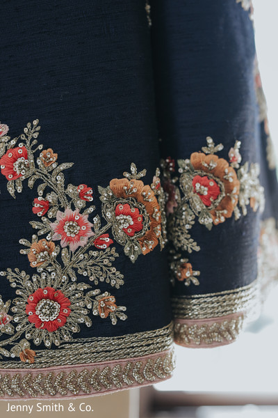 Details of Maharani's lengha for the ceremony
