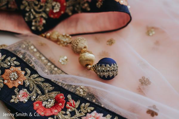 Indian bride's wardrobe little details