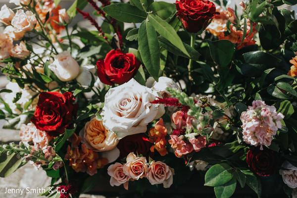 indian wedding,floral,details,venue