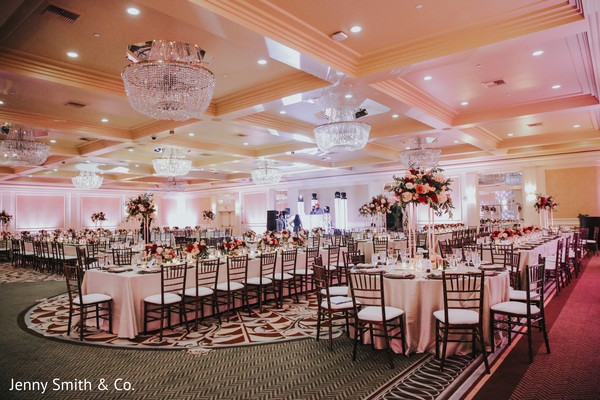 See this gorgeous Indian wedding reception venue