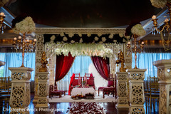Floral design decoration for the Indian wedding