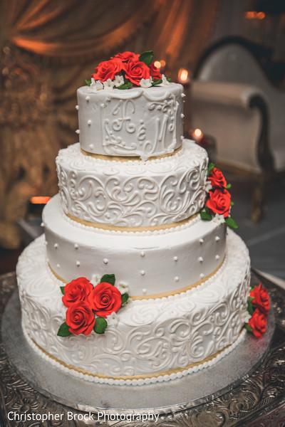 Design of the Indian wedding cake