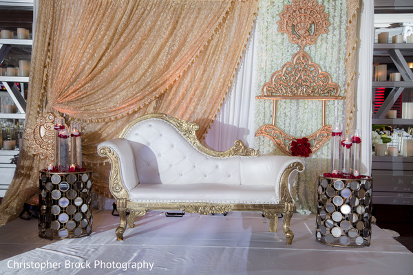 Sofa at the India wedding venue